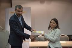 Dodjela diploma polaznicima V generacije Skole javnih politika / Award of certificates for the Fifth generation of the Public Policy School