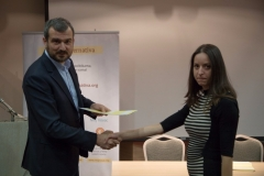 Dodjela diploma polaznicima V generacije Skole javnih politika / Award of certificates for the Fifth generation of the Public Policy School